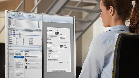 Ergonomic LCDs – perfect for electronic document management